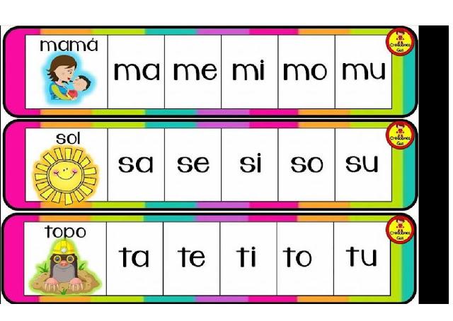vocales,imprimir,ejercicios,silabario,primaria