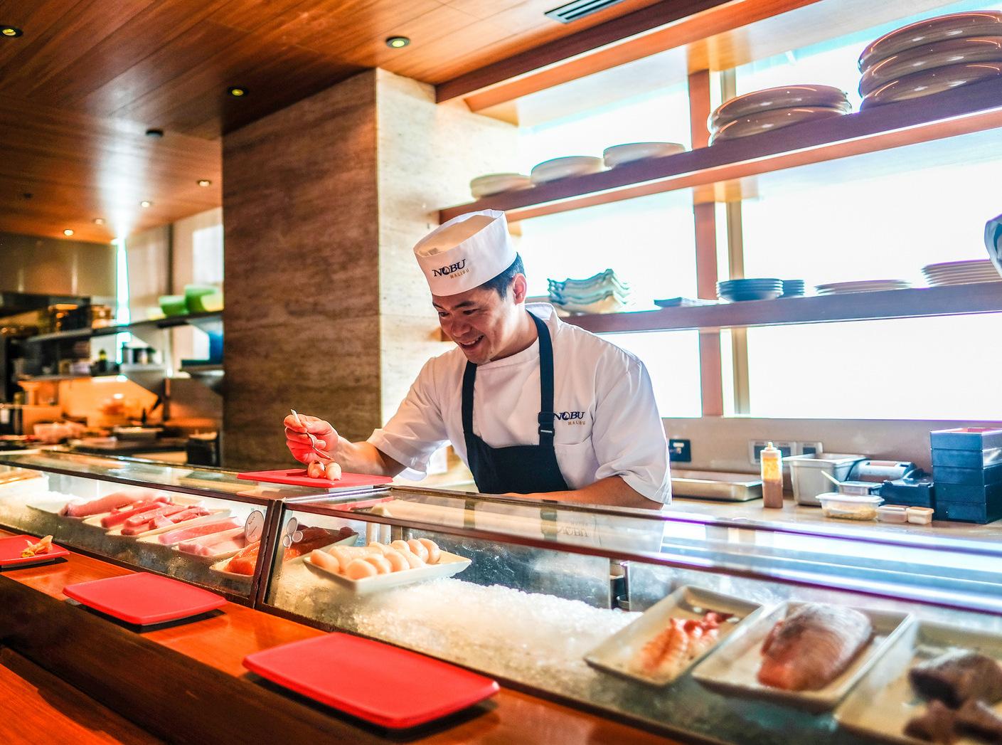 nobu kuala lumpur: new sushi bar omakase