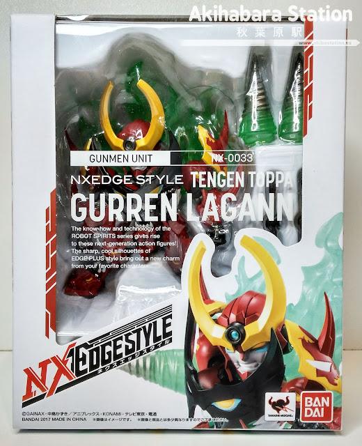 "Review de ""Nxedge Style de Tengen Toppa Gurren Lagann"" - Tamashii Nations"