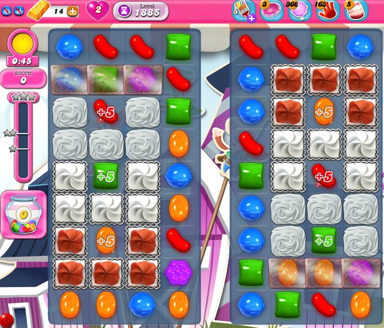 Candy Crush Saga 1885
