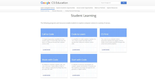Students Section for Learning Programming