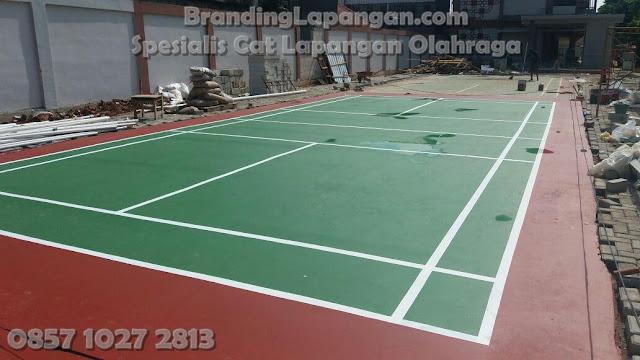 Desain Lapangan Badminton