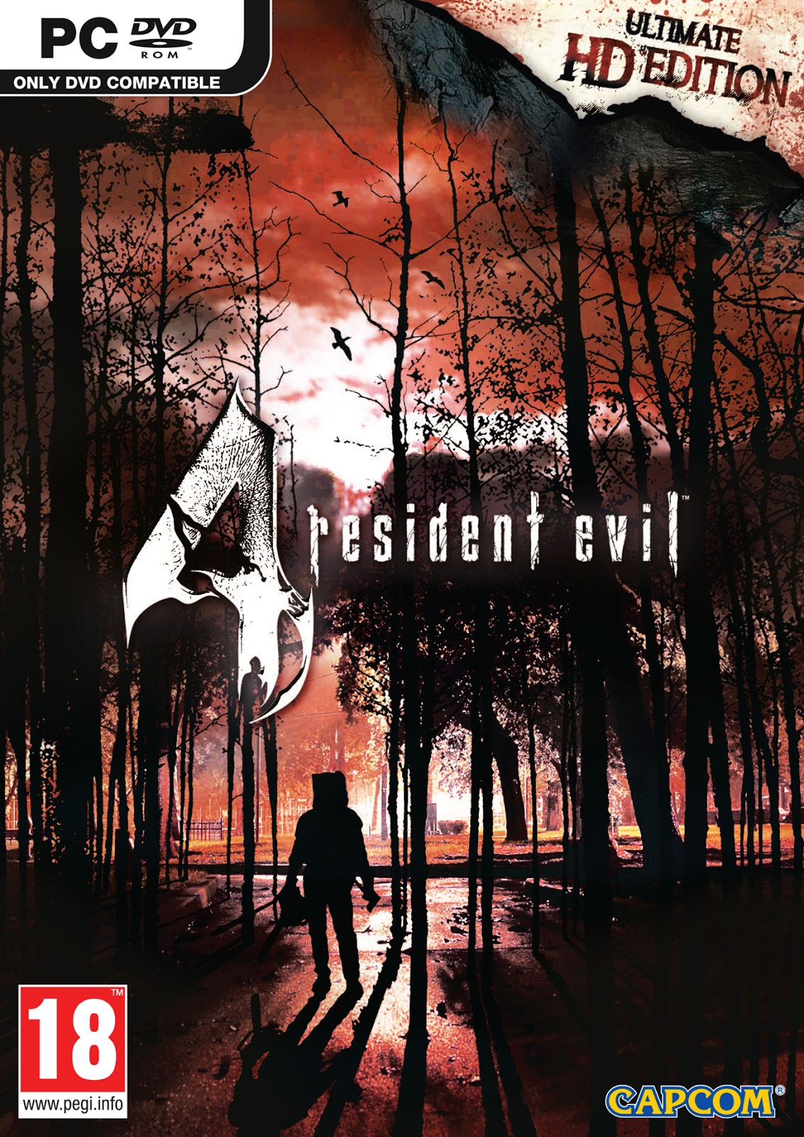 Descargar Resident Evil 4 Ultimate HD Edition PC Cover Caratula