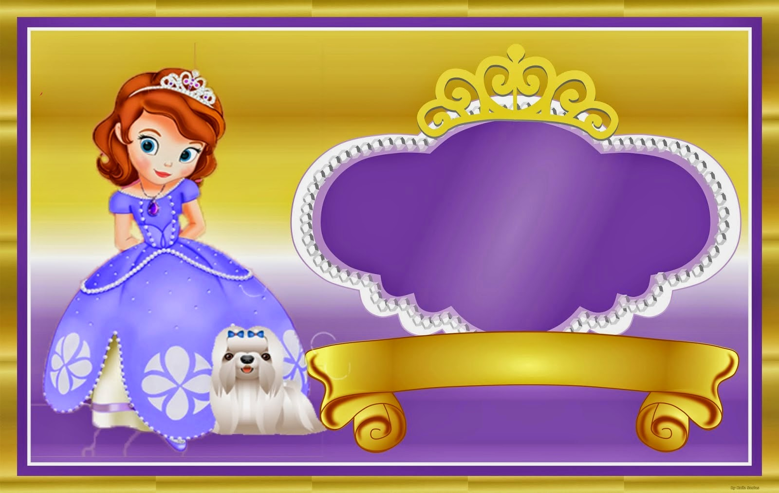 sofia the first free printable kit 015