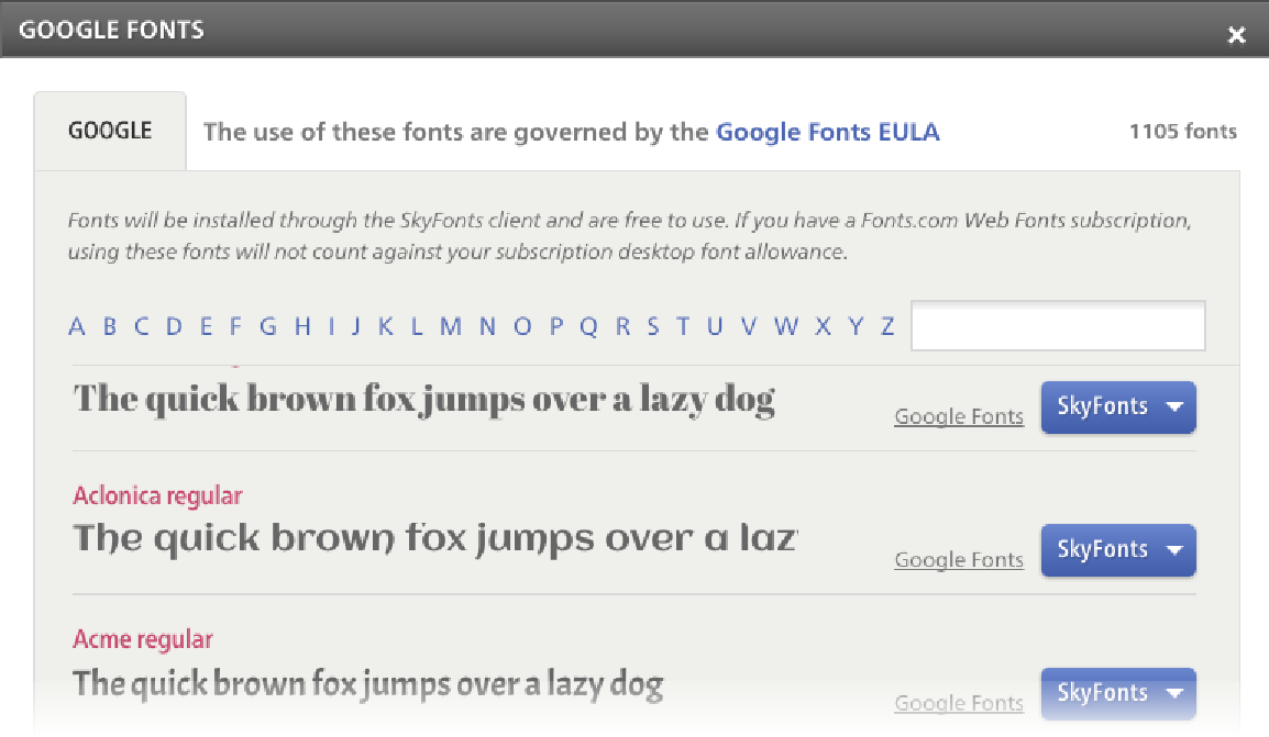 Skyfonts Automatically Updates The Fonts Installed On Your System Whenever They Are Updated On Google Fonts For Example When New Characters Are Added