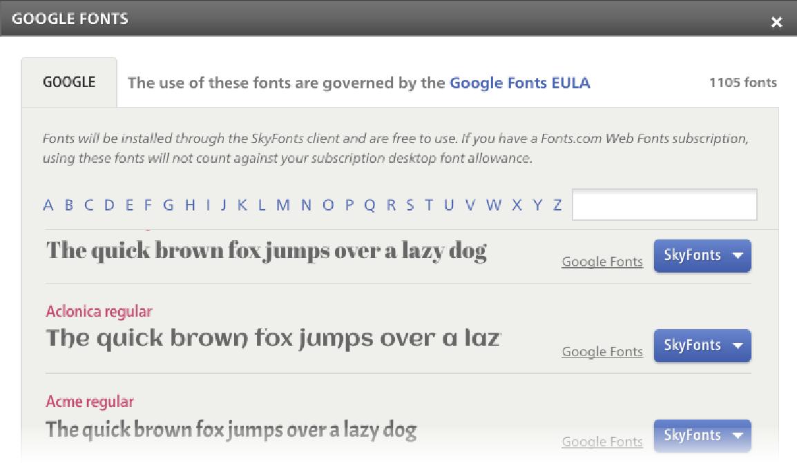 Google Developers Blog: Download Google fonts to your desktop