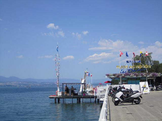 Thonon-les-Bains nad Jeziorem Genewskim