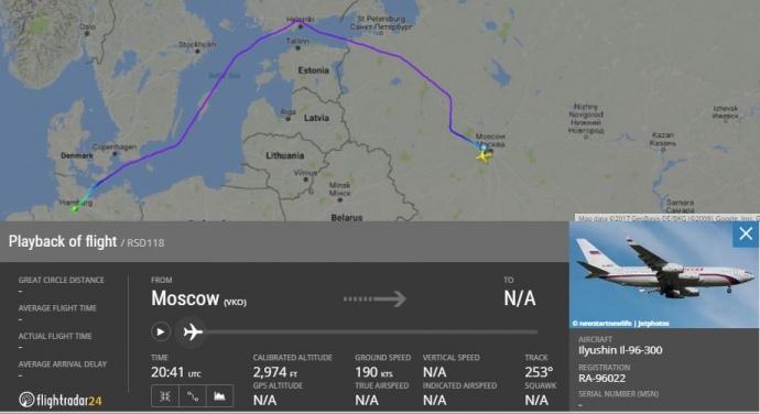 Літак Путіна дорогою на саміт G20 облетів країни НАТО