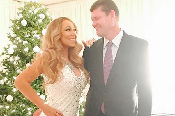 Mariah Carey published a photo with her boyfriend-billionaire