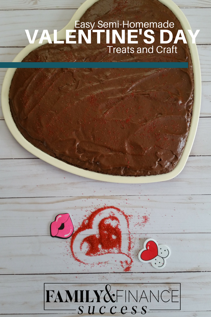 Semi-homemade Valentine's Day Treats and Craft