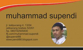 desain kartu nama sederhana alias simple cdr