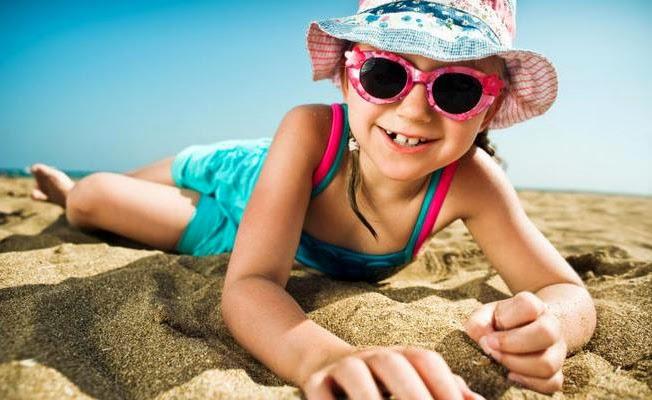 Çocuklarda Güneş Gözlüğü