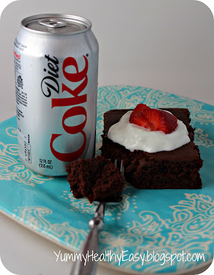 Low-Fat Diet Coke Cake