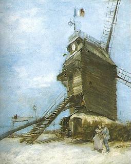 """Le Moulin de la Galette"", Van Gogh"