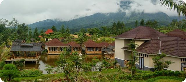 Villa di gunung bunder bogor