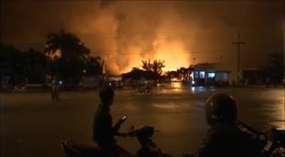 Vụ cháy kinh hoàng ở khu công nghiệp Minh Hưng - Hàn Quốc 2
