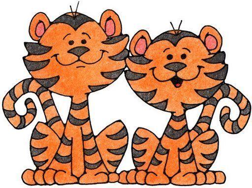 tigres dibujo