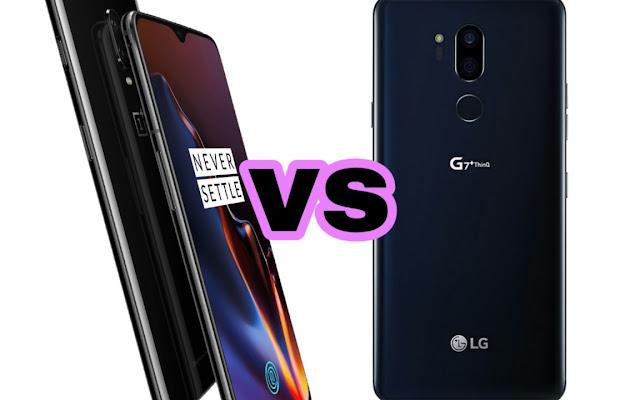 LG G7 vs OnePlus 6T