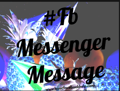 Fb Messenger Message Recovery