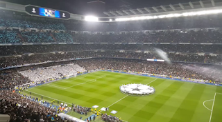Reality Crowd Stadium Santiago Bernabeu