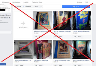 buggy shop tab of facebook