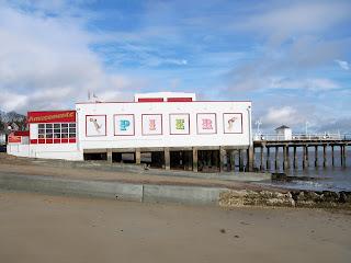 Felixstowe Pier in December 2011