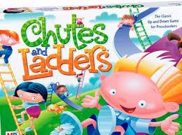 Chutes & Ladders Board Game
