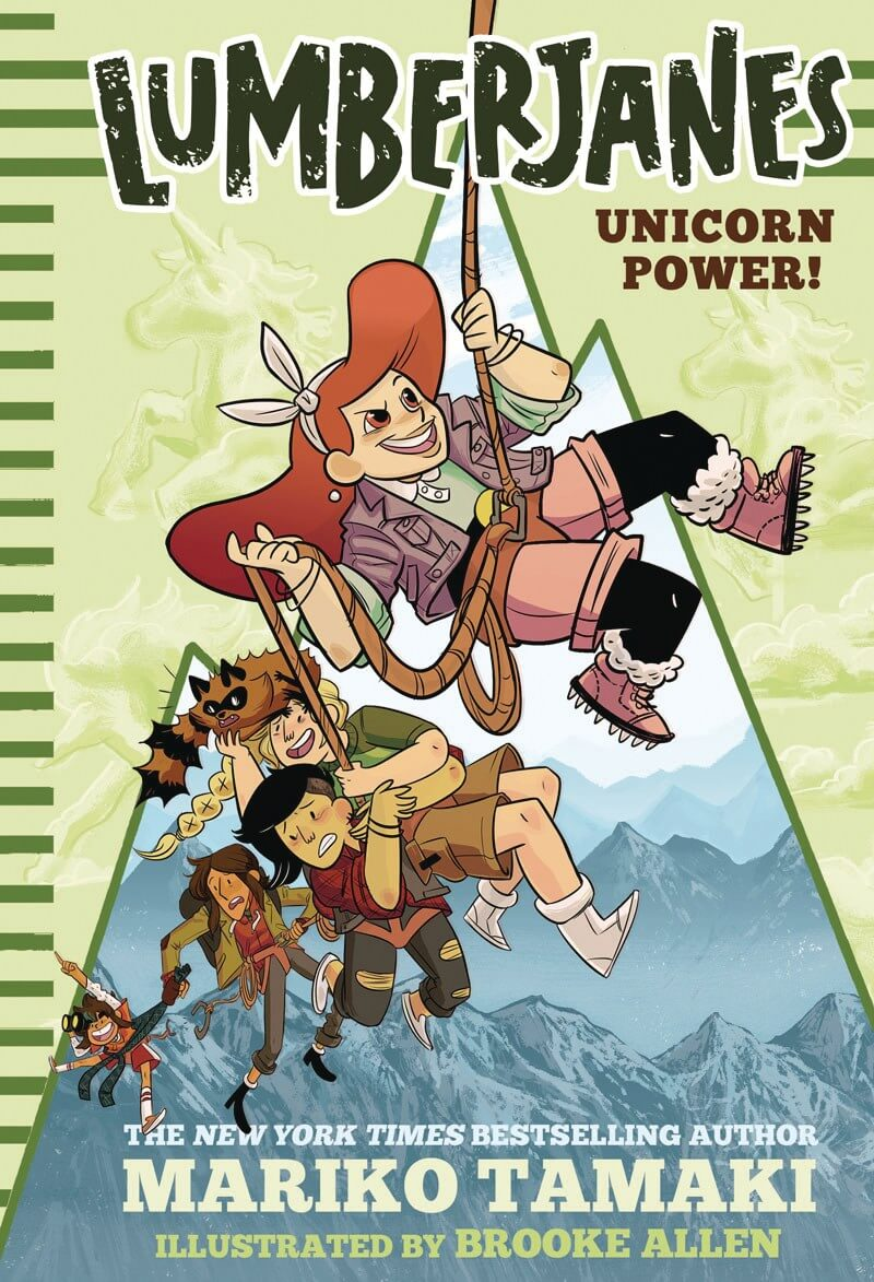 reseña: lumberjanes - unicorn power
