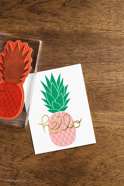 Pineapple Stamp, Stampin' Up!