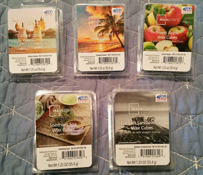 Mainstays Spring 2017 Scented Wax Melts from Walmart