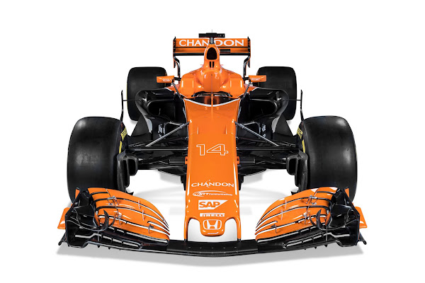 McLaren Honda MCL32 F1 2017 orange