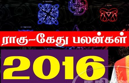 2016 Rahu ketu Predictions