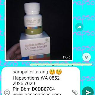 Hub.Siti Hapsoh 085229267029 Jual Peninggi Badan Ampuh Manado Distributor Agen Stokis Toko Cabang Tiens