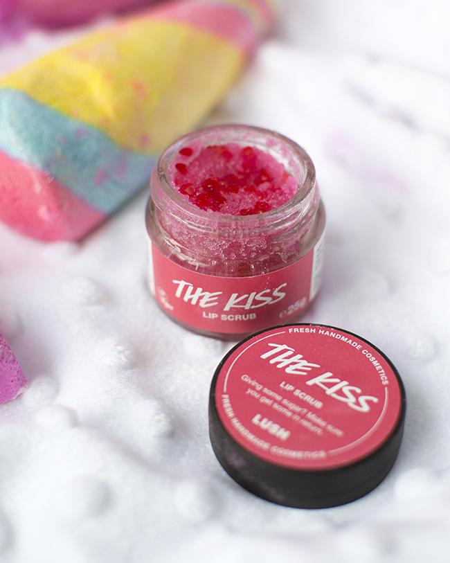 Lush The Kiss Lip Scrub