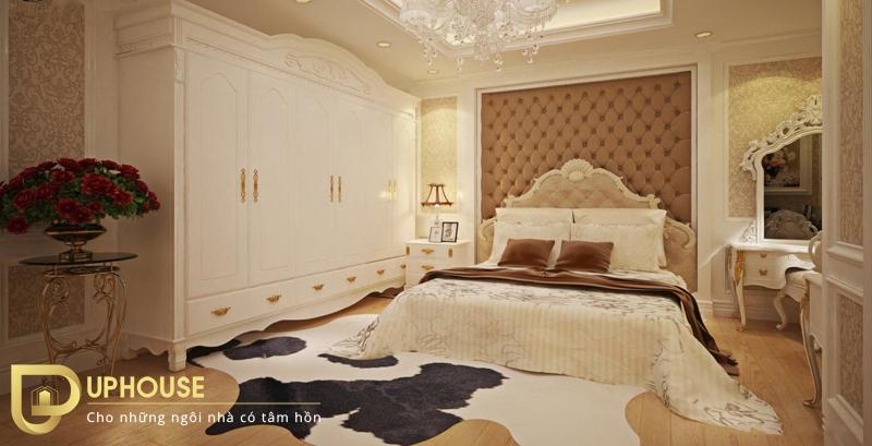 Phòng ngủ tân cổ điển đẹp 03