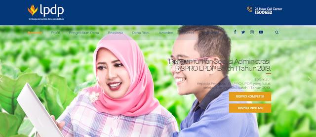 LPDP 2019 Dibuka 10 Mei