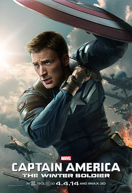 Poster Captain America The Winter Soldier (2014) Full HD Movie Download Hindi Dubbed