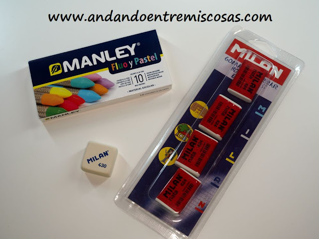 Ceras Manley y gomas Milan