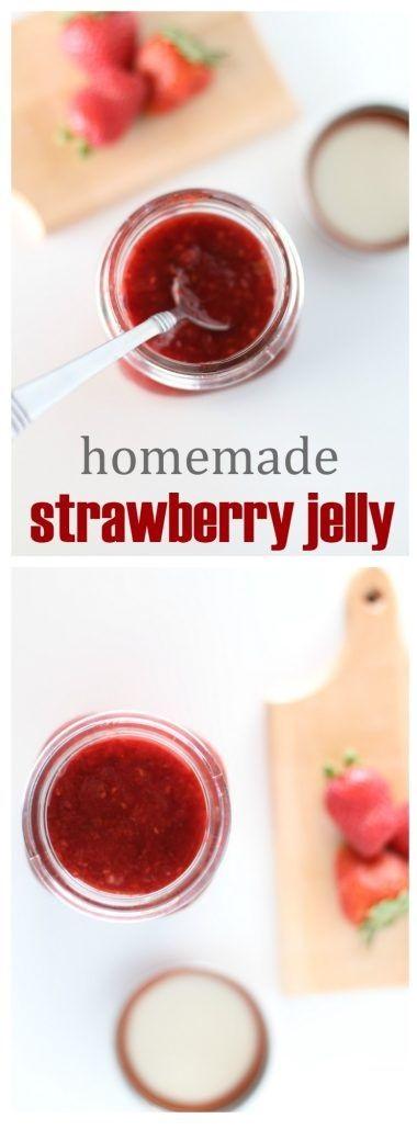 Homemade Strawberry Jelly Recipe