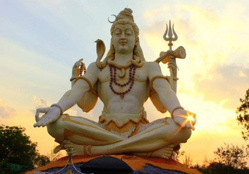 Lord Shiva statue in Karnataka
