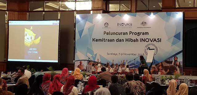 INOVASI Menandatangani Perjanjian Kemitraan Baru dengan LSM dan Organisasi Pendidikan di Indonesia