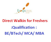 Evolutionary-Systems-walkin-for-freshers