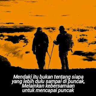 kata kata bijak pendaki gunung