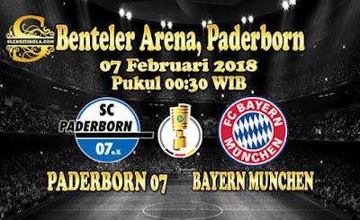 JUDI BOLA DAN CASINO ONLINE - PREDIKSI PERTANDINGAN GERMAN CUP PADERBORN VS BAYERN MUNCHEN 07 FEBRUARI 2018