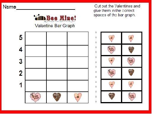 Classroom Freebies Too Bar Graph Valentine Freebie