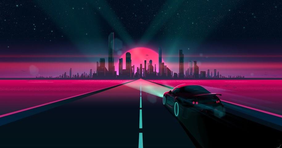Neon Car Wallpaper 4k Wallpress Free Wallpaper Site