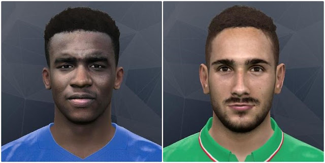PES 2017 Lezzerini and Solomon-Otabor Face by Gonduras2012