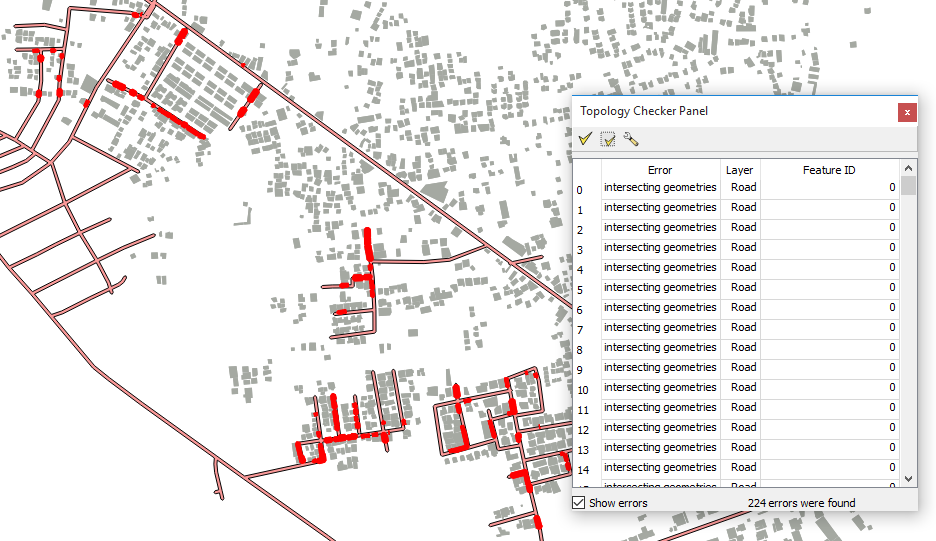 How to Check Topology Error in QGIS