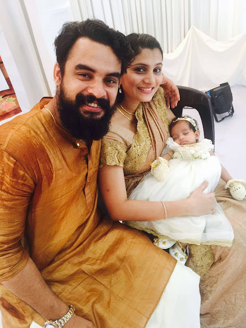 Tovino Thomas Family Photos - Tovino Thomas Wife