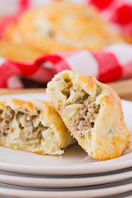 These delicious and savory meat pies are so easy to make, and taste amazing!